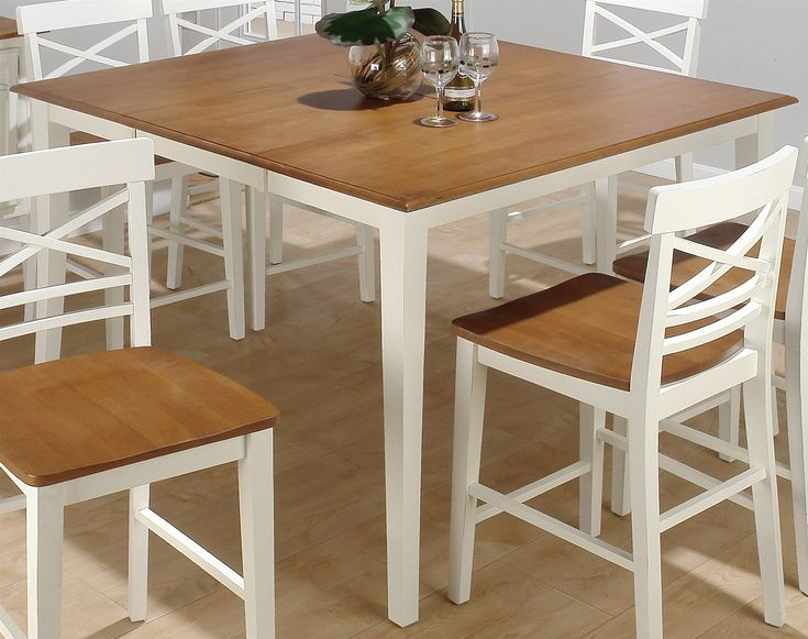 Best 25 white dining table set ideas on pinterest white - Surprising dining room and kitchen decoration with various cool kitchen table ...
