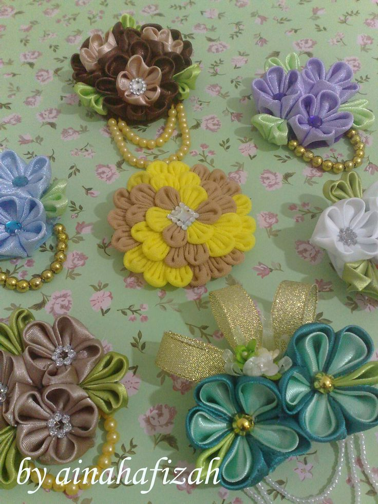 DIY Fabric Flower in Bahasa Indonesia