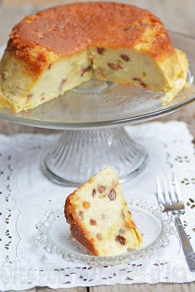 gâteau de semoule, semoule de blé fine, oeufs, caramel, raisins blonds, rhum,