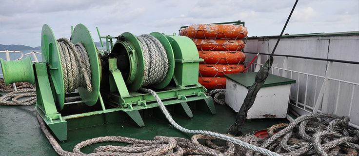 Marine Winch by MAX Groups