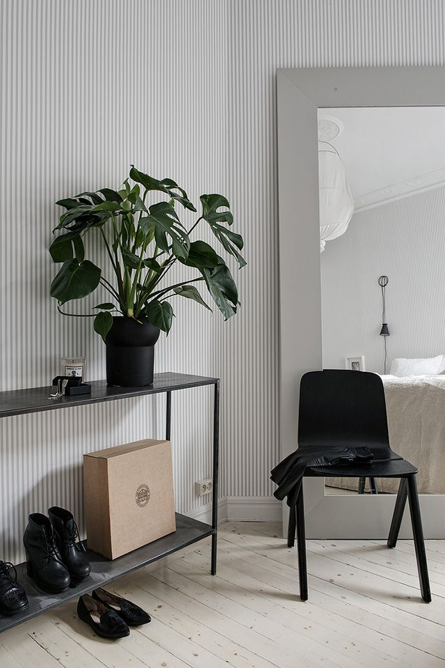 TDC: Homes to Inspire   Grey, White + Striped