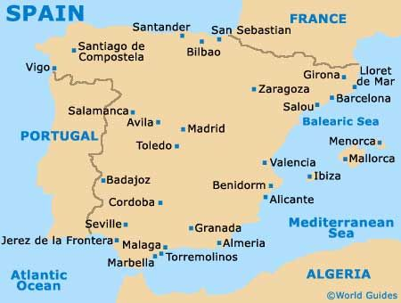 Spain Tourism and Tourist Information: Information about Spain ...