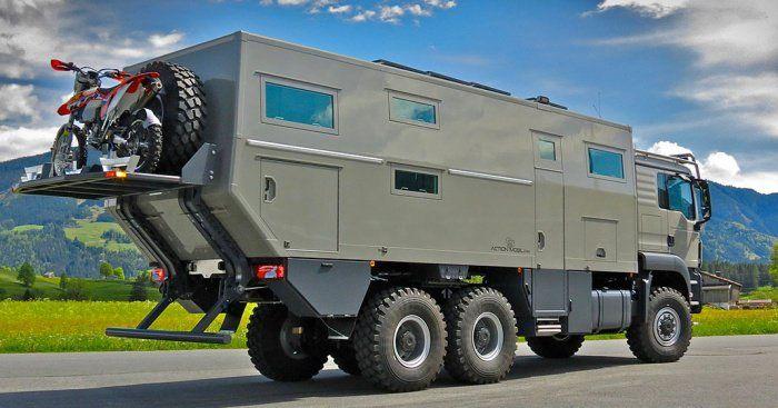 Ce camping-car a beau ressembler à un tank, son grand luxe et ses capacités folles vont vous scotcher !