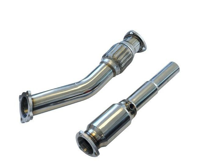 """034Motorsport High-Flow Racing Catalytic Converter, 3"""" Downpipe With HFC, Mkiv Volkswagen Golf/Jetta/ Gti/Gli 1.8T  #Audi #turbo #hid #Volkswagen #sparkplugs #exhaustmanifold #turbochargers #oilservice #rosstech #034motorsport #turbosmart #newsouthperformance #hidlights #apr #gofastbits  25% Off Entire store!  Come Check out what we have for your ride Now WHILE SUPPLIES LAST! Free shipping available!"""