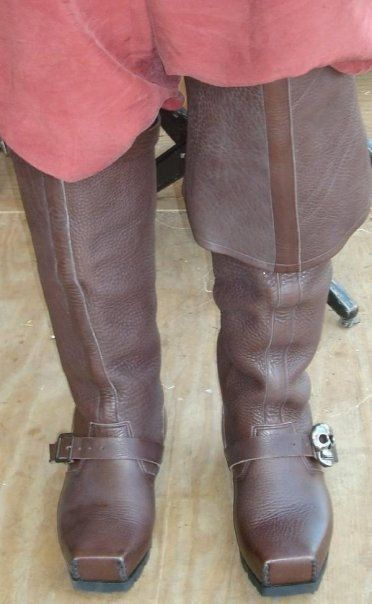 Captain Teach Pirate Boots Steam Punk by SonofSandlar on Etsy, $580.00
