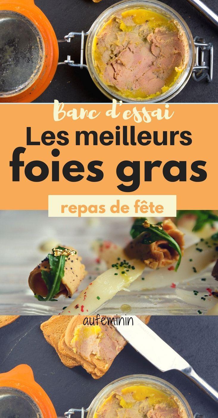 Un jury aux papilles aiguisées a testé des foies gras que l'on peut facilement acheter. Verdict sur #aufeminin ! /// #foiegras #repas #menu #fêtes #Noel #reveillon #bancdessai #Marmiton #canard