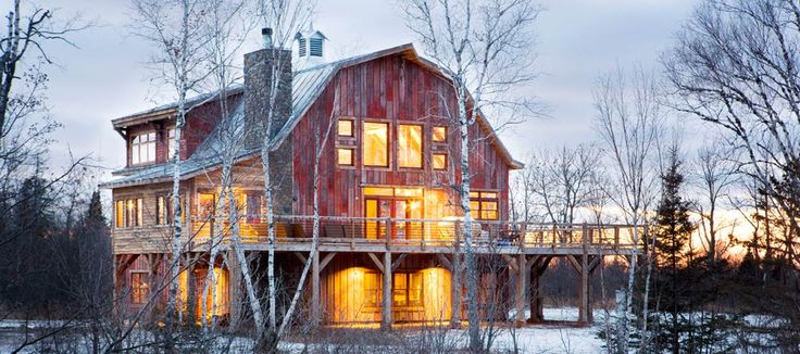 Lake Superior Barn on 320 acres of remote wilderness and sandy beach