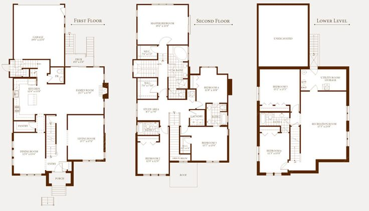 6 Bedroom Single Family House Plans About The Oak Iii
