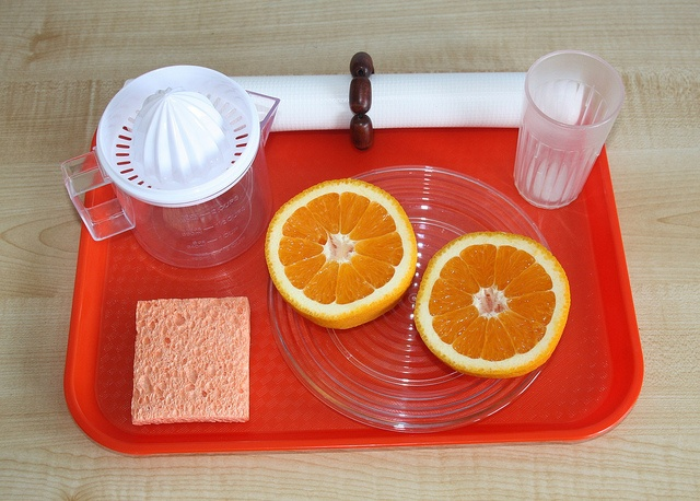 Food Preparation Sqeezing Oranges Workboxes Amp Trays