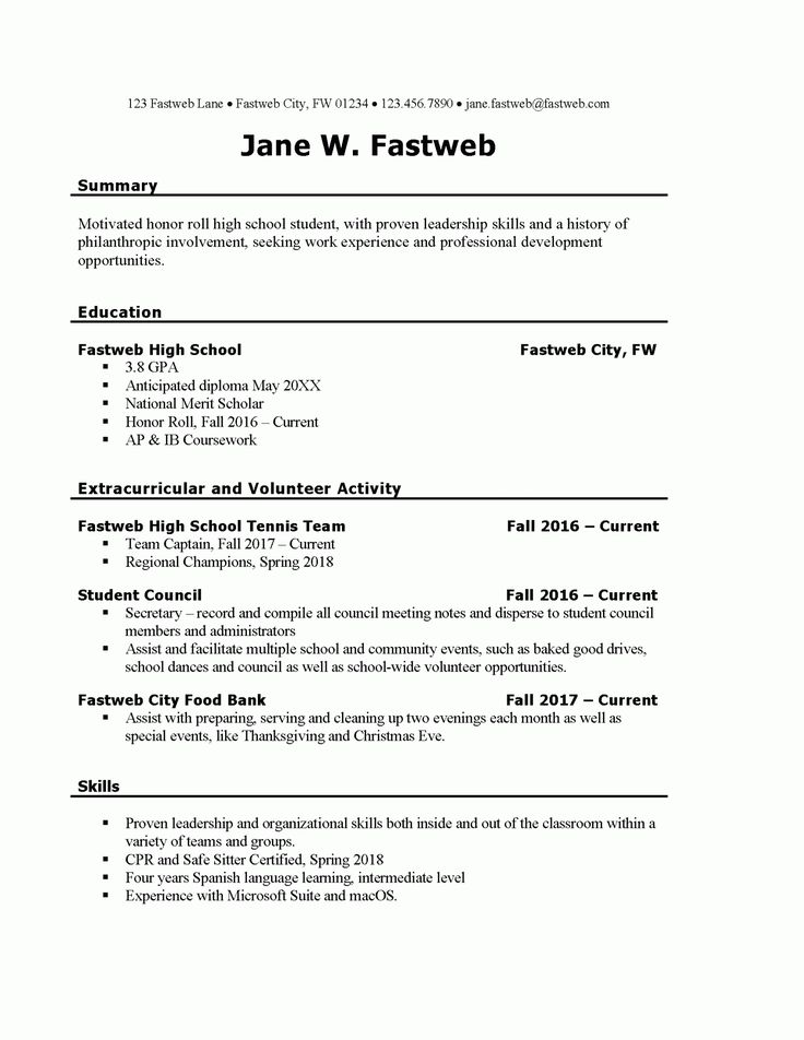 resume for part time job template  louiesportsmouth