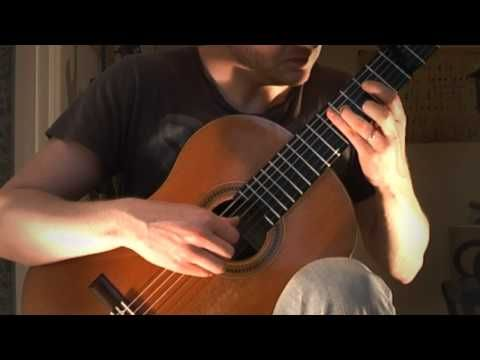 Michael Nyman - The Heart Asks Pleasure First (Acoustic Classical Guitar Cover by Jonas Lefvert) - YouTube