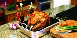 <p>As far as food goes on Thanksgiving Day, the turkey is the center of the entire meal. When cooked the