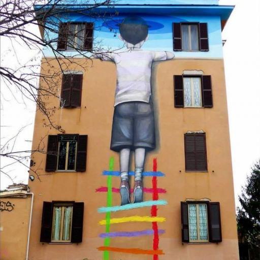 A arte criativa e espontânea que não está nas galerias! Mande para a gente fotos das paredes e ruas com arte ao ar livre! #a vida e arte #art #arte #bem visuais #mande uma foto #rua #street #street art