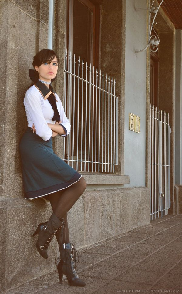 Songbird, songbird, see him fly~ Elizabeth from Bioshock Infinite by *AngelaBermudez on deviantART