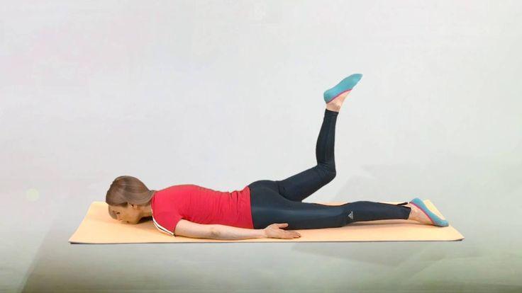 Гимнастика для лечения коленей, часть 2 - расширенный комплекс упражнени...