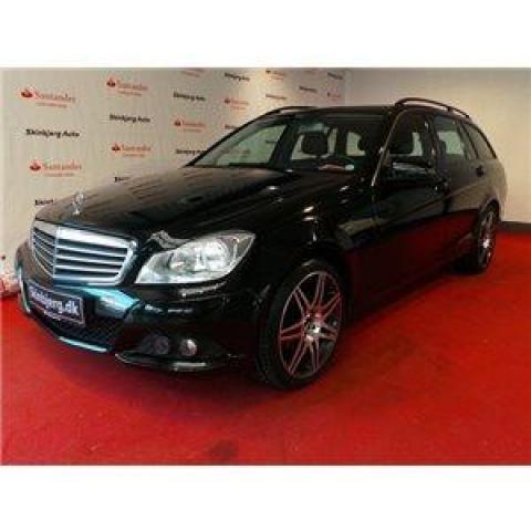 Mercedes C200 2,2 CDi Elegance st.car aut. BE aut. - 1/3