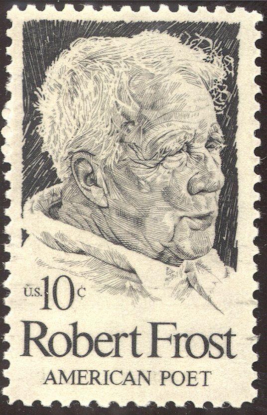 Robert Frost, iconic American poet