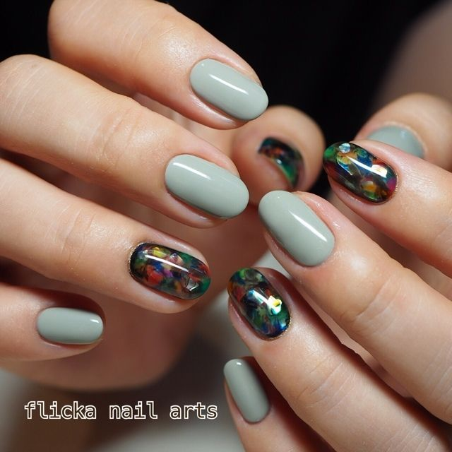ネイル 画像 flicka nail arts 1706359
