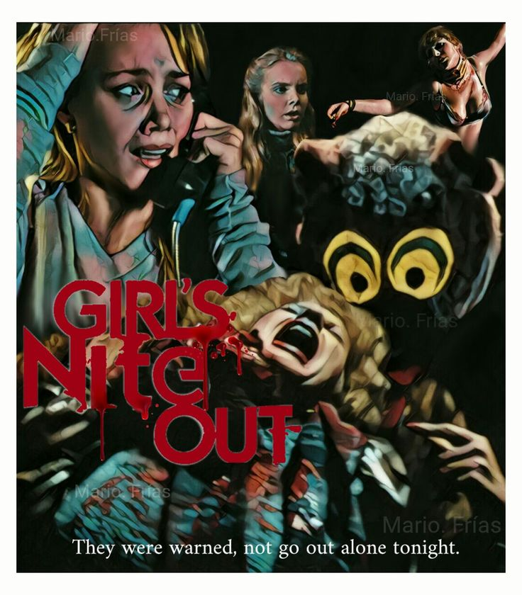 Girl's Nite Out 1982 Horror Movie Slasher Fan Made Edit By Mario. Frías