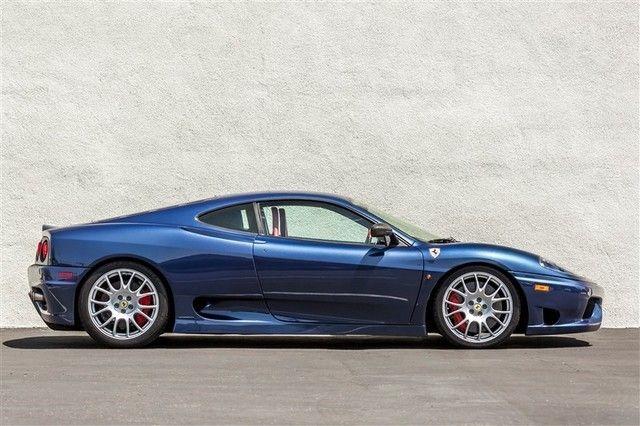 Caramble Ferrari 360 Challenge Stradale Blue Ferrari 360 Dream Cars Ferrari Car