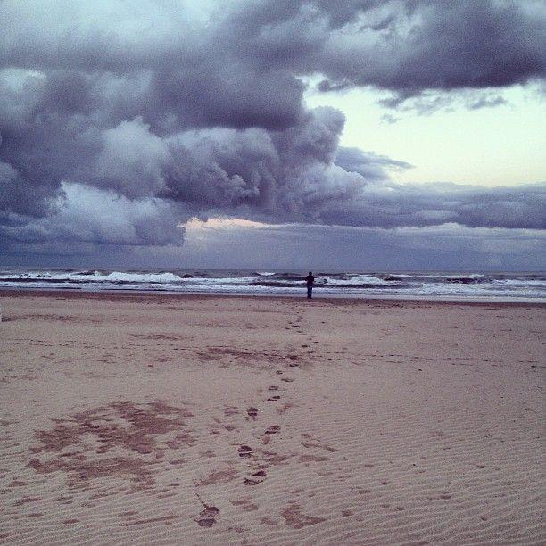 Rimini, Going towards the storm - Instagram by @federchicca