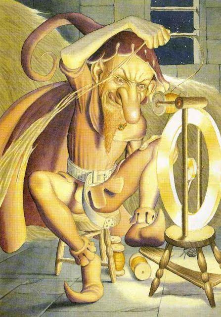 Сказочные Иллюстрации: Сказки - Румпельстилтскин