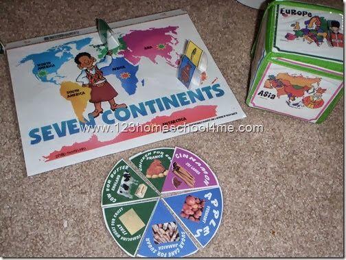Cute idea. #prek #preschool #geography #continents
