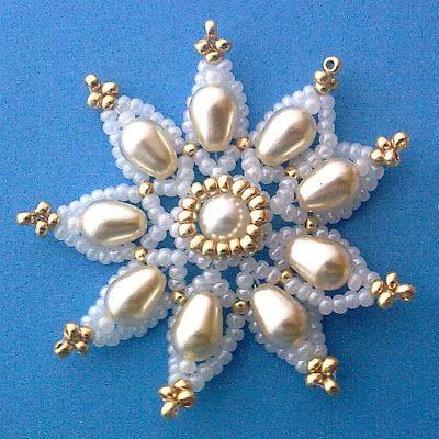 Pattern bijoux: Fiore delicato