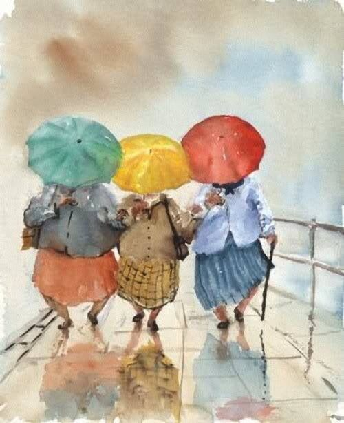 Graciosa acuarela*. Watercolor art