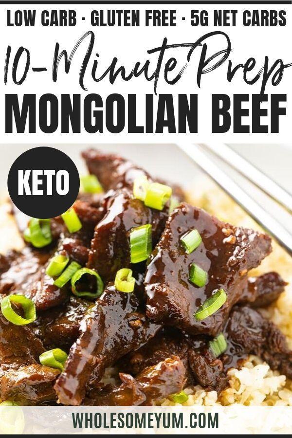 Keto Slow Cooker Mongolian Beef Recipe Slow Cooker Mongolian Beef Recipe Keto Beef Recipes Mongolian Beef Recipes