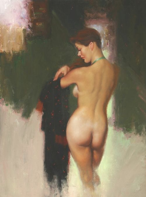 Otant Son Peignoir (Removing Her Robe)