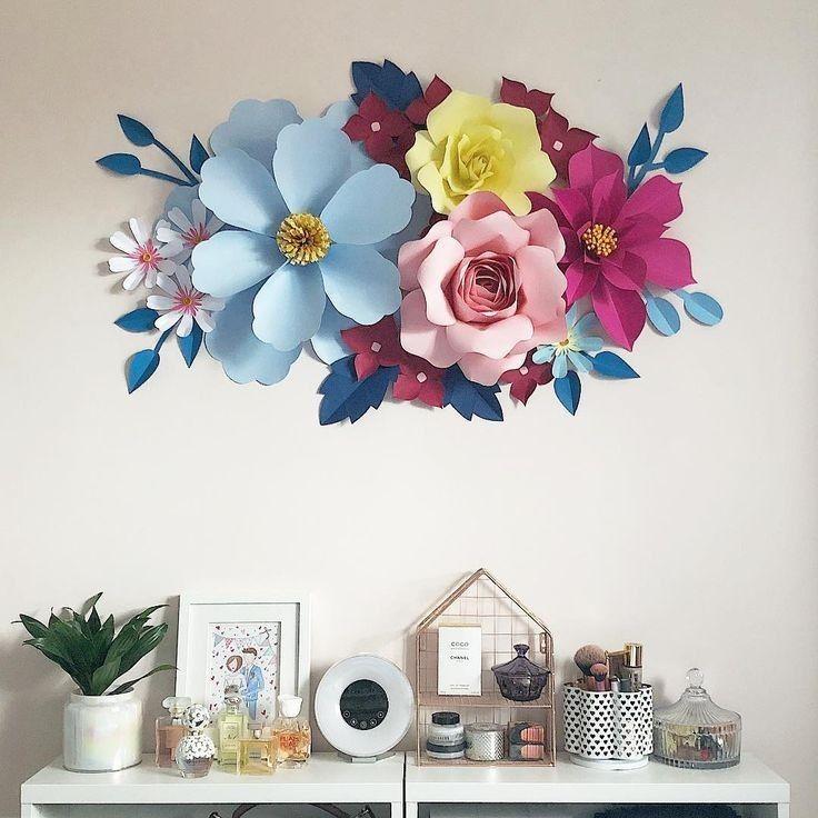 Paper Flowers Diy Flower Decor