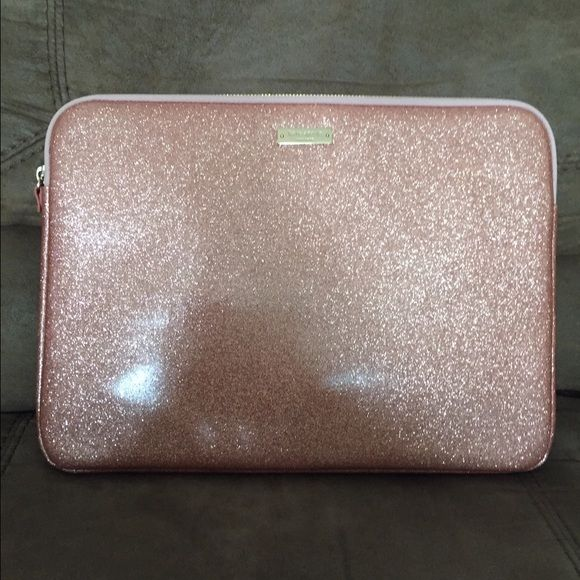 Kate Spade 13' Laptop sleeve I bought this at Best Buy for $69.99 like 1 month ago for my MacBook Air 13' but I sold my laptop & now I have no use for it. It's in almost new condition. Will fit any 13' laptop. PRICE FIRM. kate spade Accessories Laptop Cases