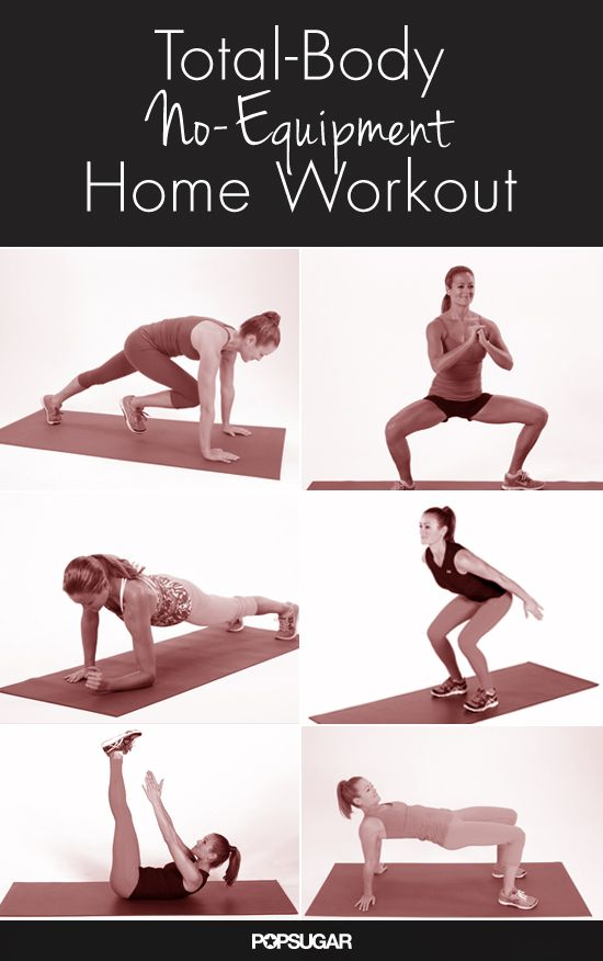 Small Space? We've Got the Workout Solution - No space, no money to invest in a home gym, and no time? No excuses! Work your entire body with the following circuit workout. You don't need a lot of space to do it; all you need is your living room or bedroom floor. And while it tones all your muscle groups, it doesn't take a lot of time: repeat this circuit twice, and you'll still be done in about 20 minutes!