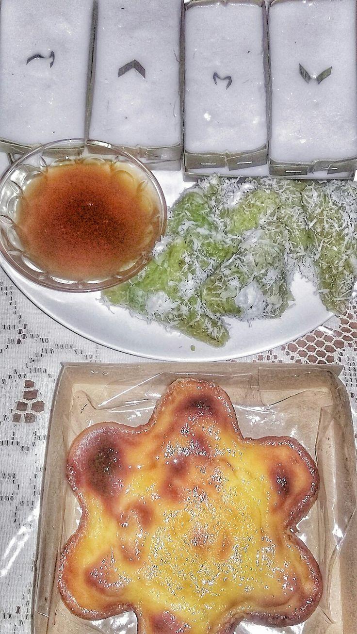Above  : kue jorong-jorong Middle : kue lopes Below. : kue bingke