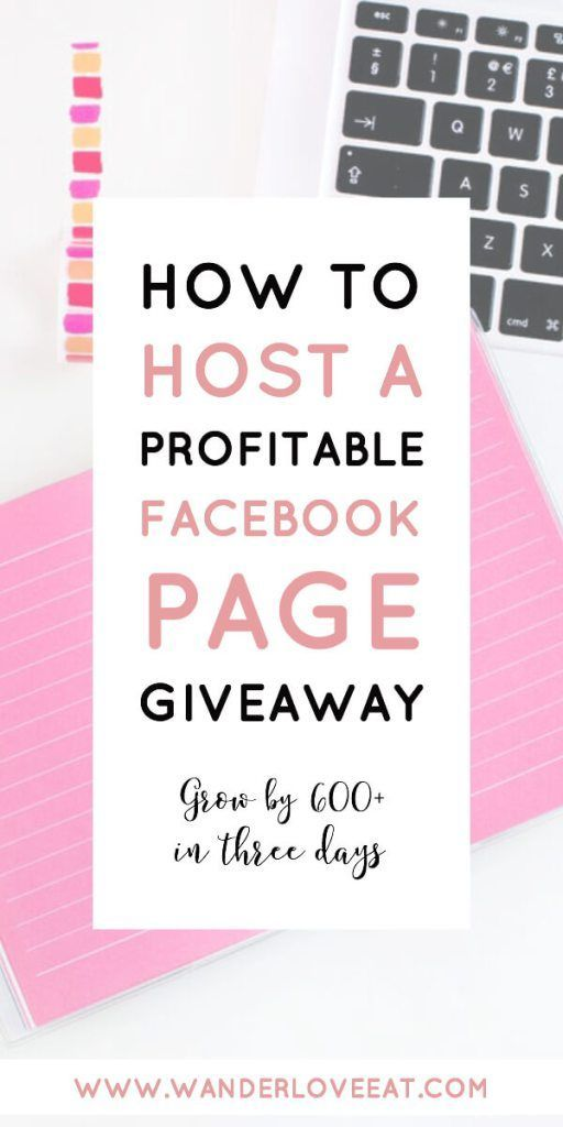 How to host a profitable Facebook page giveaway | Facebook