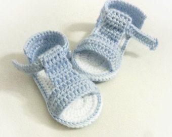 Sandali del bambino, uncinetto bambino scarpe, scarpe estive