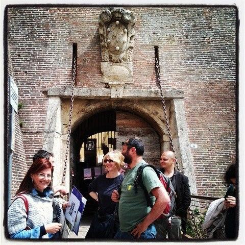 """La legambiente con Nunzio, Romina e me prende accordi con Alessandro per fare altre manifestazioni sul territorio nell'ambito di """"Grande piccola Italia"""""""