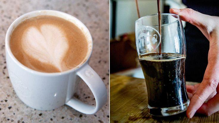 Kaffegigant lanserer latte med ølsmak