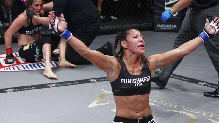 """Invicta FC featherweight champion Cris 'Cyborg' Justino responds to Rener Gracie's public comments that she is given """"too much credit."""""""