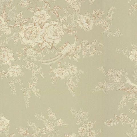 Vintage Dauphine - Laurel - Florals - Wallcovering - Products - Ralph Lauren Home - RalphLaurenHome.com
