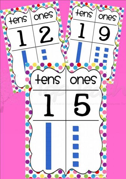 Display these posters to help your students understand tens and ones in numbers 10-20. It shows how many tens and ones with MAB block