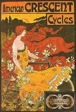 Idea: vintage cycling poster...