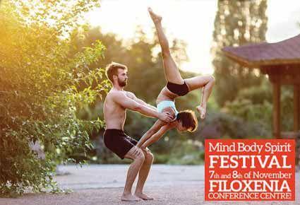 ΕΙΔΙΚΗ ΤΙΜΗ!!! €6 για 1 Εισιτήριο για Μια Μέρα ή €11 για τις Δύο Μέρες για την Έκθεση The Mind, Body & Spirit Festival 2015! Με Πάνω Από 100 Εκθέτες!  Συμπεριλαμβάνει Όλες τις Διαλέξεις, Μαθήματα και Εργαστήρια! Στις 7 & 8 Νοεμβρίου στο Συνεδριακό Κέντρο Φιλοξενία στη Λευκωσία!