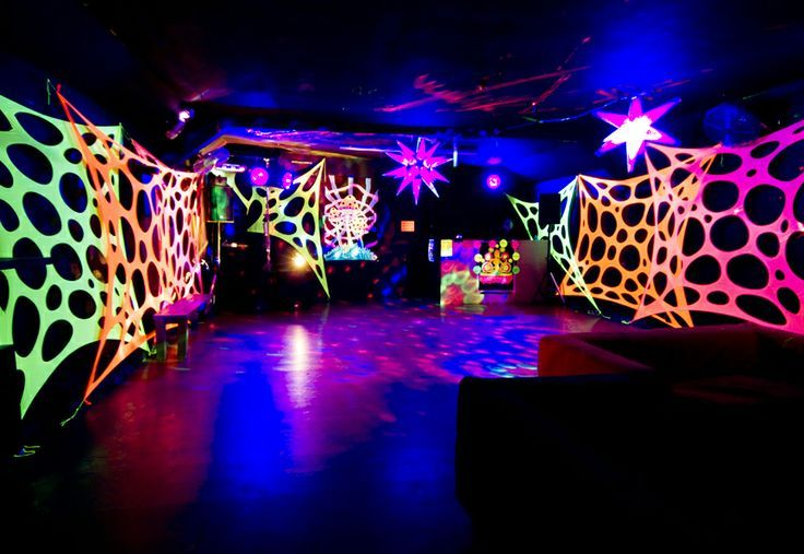 outdoor glow in the dark party - Google Search