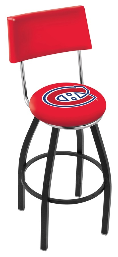 Use this Exclusive coupon code: PINFIVE to receive an additional 5% off the Montreal Canadiens Bar Stool w/Back at SportsFansPlus.com