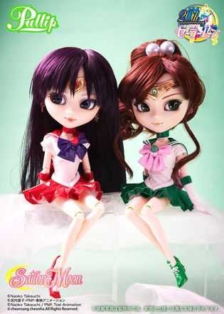 The Inner Sailor Guardians Are Finally All Together! 'Sailor Moon' x Pullip Sailor Mars & Sailor Jupiter