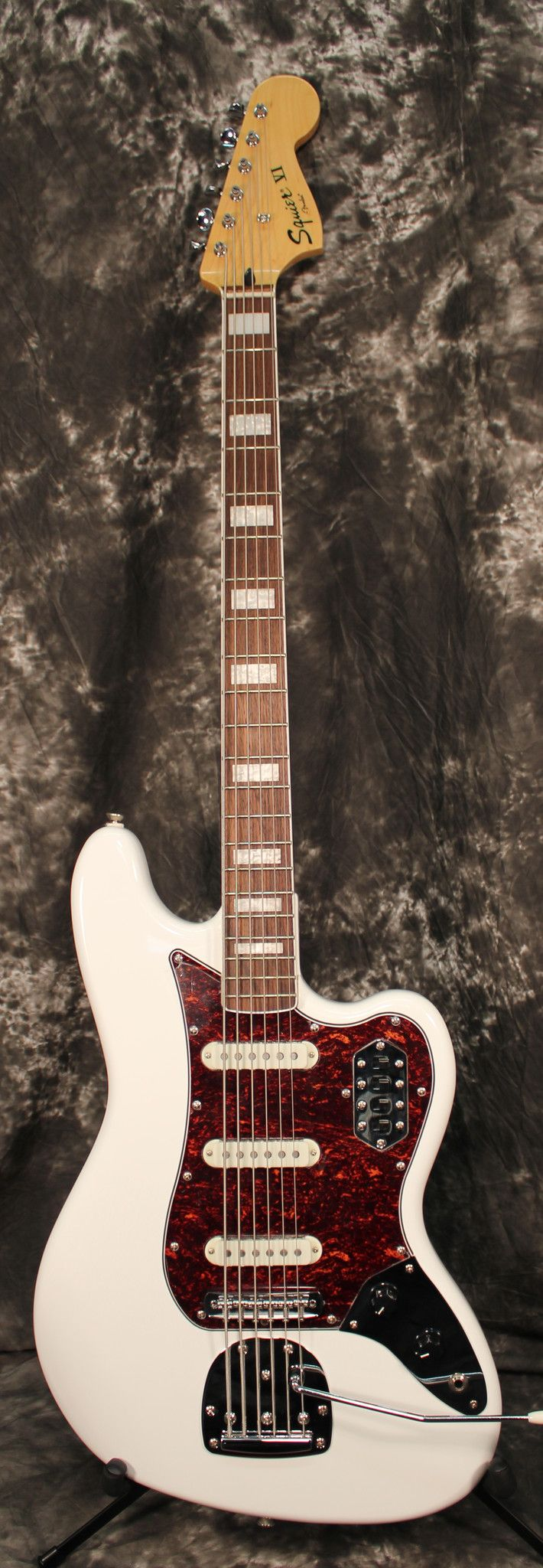 My eb bass squier vintage modified jazz bass - 2015 Squier Vintage Modified Bass Vi Rosewood Fingerboard Olympic White Electric Bass Guitar