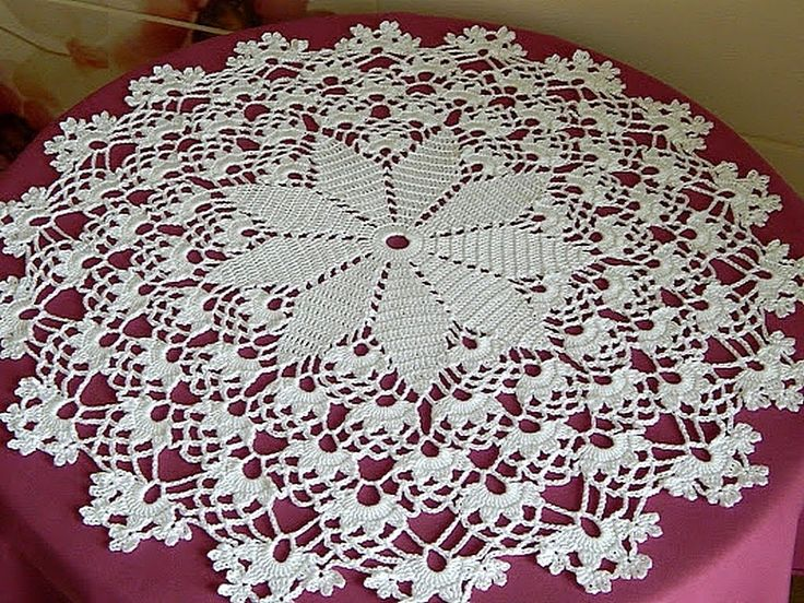 #Crochet .Crochet Doily diagram. My doily. Lace napkins. FREE crochet di...