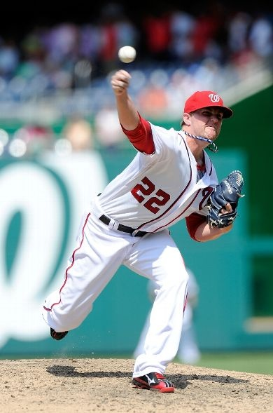 July 29 - WSH vs NYM - Drew Storen makes his 2012 MLB Debut with a 1-2-3 inning after missing 89 games due to surgery .